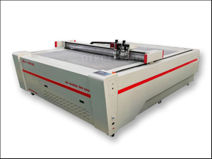 Oscillating knife cutting machine for cardboard/carton box/corrugated board