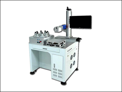 Plastic led bulb fiber laser marking machine