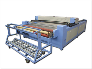 Auto feeding fabric co2 laser cutting machine for sale