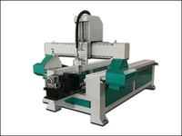 Cylinder cnc router engraving machine for round material