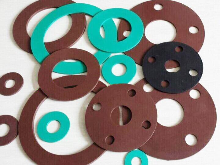 PTFE plastic rubber gaskets cnc oscillating cutter machine
