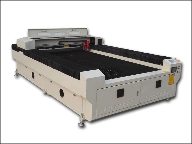 Metal and nonmetal co2 laser cutting machine