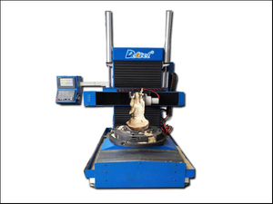 3D wood sculpture cnc router carving machine 5 Axis
