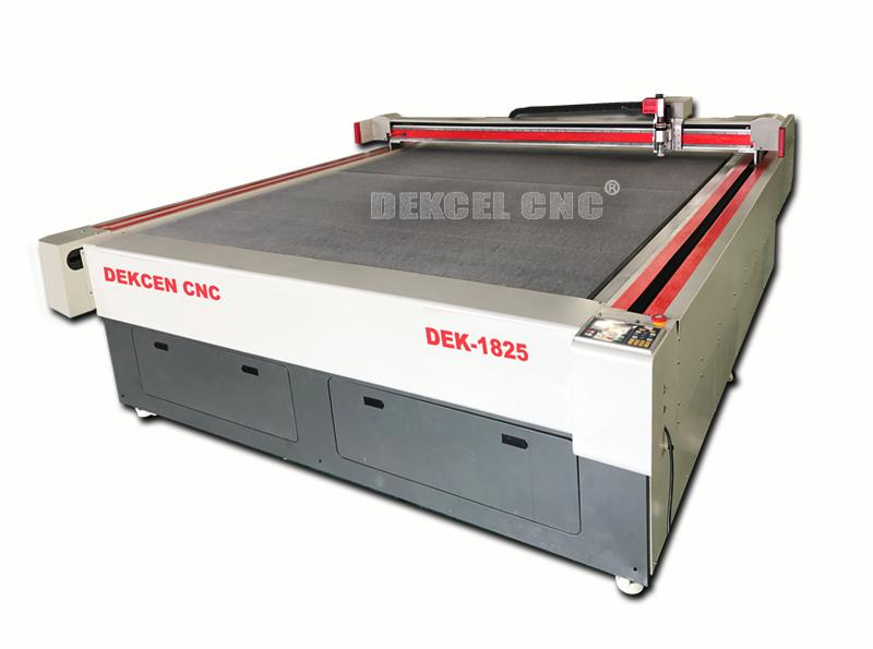 The Digital Development of CNC Oscillating knife cutting machine