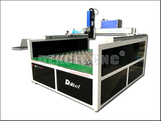 Dekcel CNC 1616 Big size Dynamic Glass Mirror Splice Engraving Fiber Laser Marking Machine