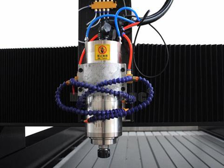 high power water-cooling spindle of cnc stone router machine.jpg