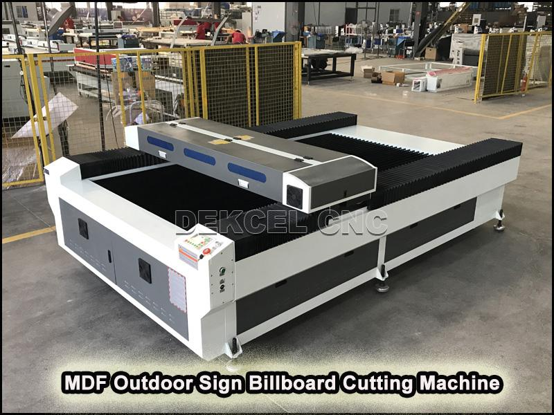 china mdf board sign laser cutting machine