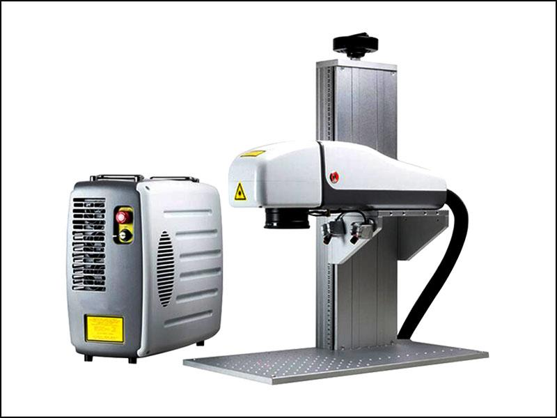portable mopa color fiber laser cutting machine for stainless steel