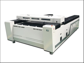 Co2 metal sheet laser cutting machine 260w for 2mm stainless steel