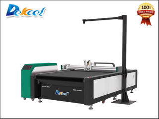 CCD Visual Camera Contour Oscillation Knife Cutting Machine
