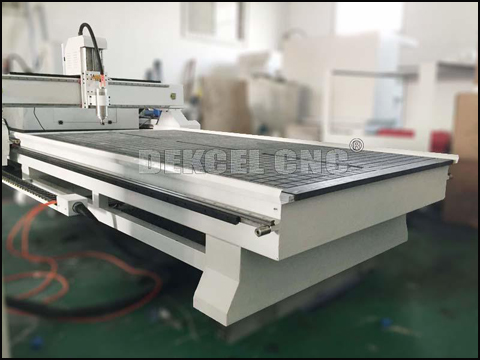 The introduction of heavy duty and limit switch of Dekcel customized cnc engraving router( Fourth part)