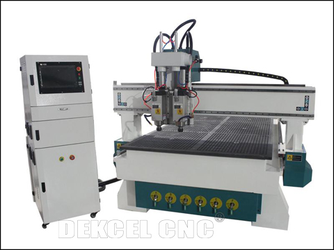 Multi head wood engraving cnc router machine features and applications