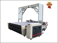 CCD camera flooring mat carpet rugs oscillation knife cnc cutting plotter machine