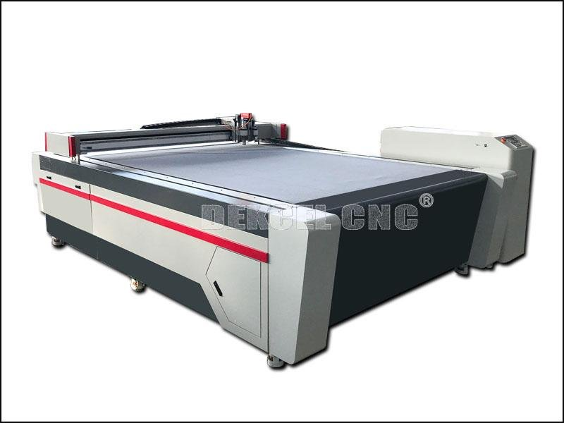Intelligent Digital Fiberglass Fabric Oscillation Knife Cutting CNC Machine