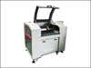 9060 Reci 100w wood arts and crafts co2 laser cutting and engraving machine up and down table