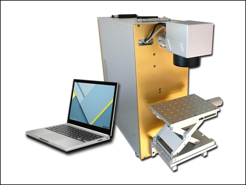 The brief introduction of fiber laser marking engraving machine