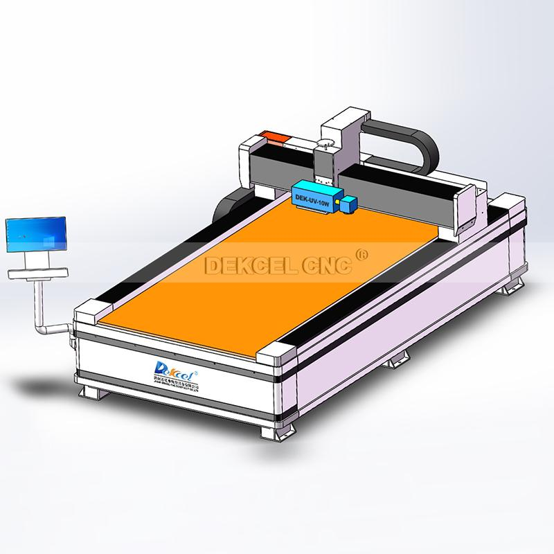 Frosted Effect Glass Intelligent Decorative Mirror UV Laser Making Machine